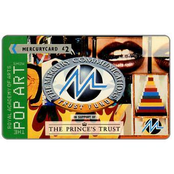 Mercury - The Prince's Trust: Pop Art, Joe Tilson, £2