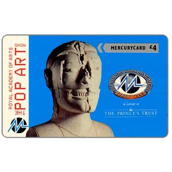 Phonecard for sale: Mercury - The Prince's Trust: Pop Art, Palozzi, £4