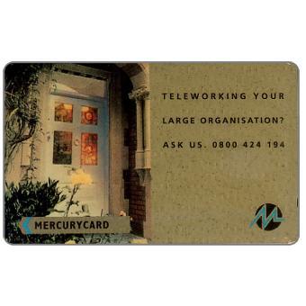 Phonecard for sale: Mercury - Teleworking, 50p