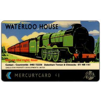 Phonecard for sale: Mercury - Waterloo House, £1