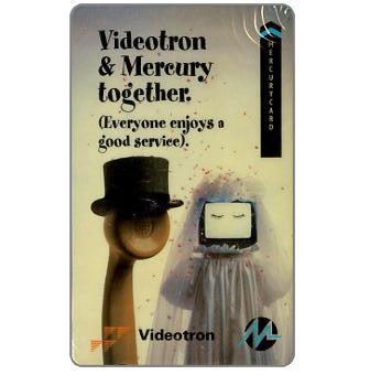 Mercury - Videotron & Mercury together, 50p