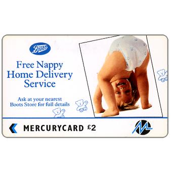 Paytelco - Boots, Free Nappy Home Delivery Service, £2