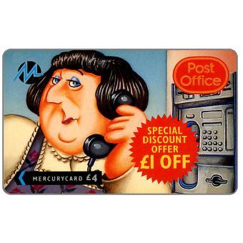 Paytelco - Post Office, Mavis (£1 off Promotion), £4