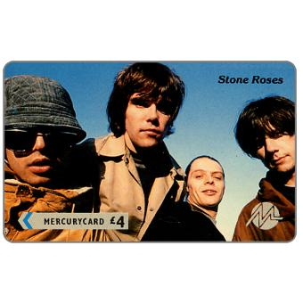 Phonecard for sale: Paytelco - Pop Stars, Stone Roses, £4