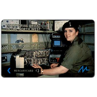 Paytelco - Territorial Army,  technician, £2
