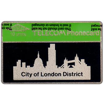 Phonecard for sale: City of London District, 10 units