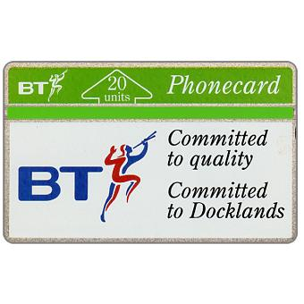 Phonecard for sale: Committed to Docklands, 20 units