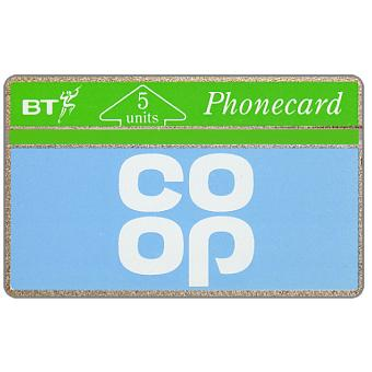 Phonecard for sale: Co-Op, 5 units