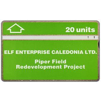 Elf Enterprise Caledonia Ltd. - Piper Field, 20 units