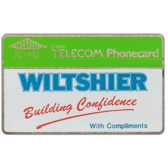 Phonecard for sale: Wiltshier, 20 units