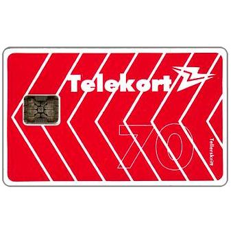 Phonecard for sale: Arrows and logo definitive, chip SC-5, 70 units