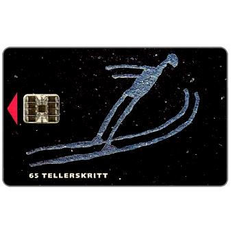 Phonecard for sale: Lillehammer 1994, Ski Jumping, 1/93, chip SC-5, 22 units