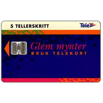 Phonecard for sale: Lillehammer 1994, Complimentary card, 5 units