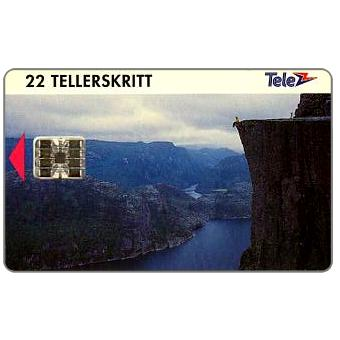 Phonecard for sale: Prekestolen, 22 units
