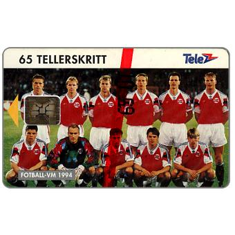 Phonecard for sale: Football National team, 65 units