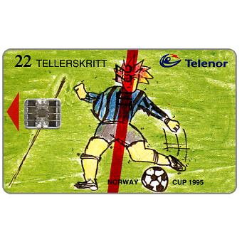 Phonecard for sale: Norway Cup 1995, 22 units