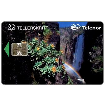 Phonecard for sale: Voringfossen, 22 units