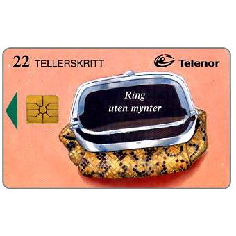 Phonecard for sale: Calls without coins, snakeskin purse, 22 units