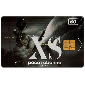 Phonecard for sale: Portugal Telecom - Paco Rabanne, 50 units