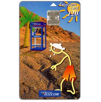 Phonecard for sale: Portugal Telecom - Summer '97, 120 units