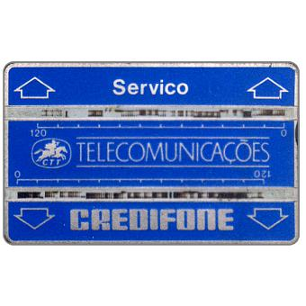 """Phonecard for sale: CTT Telecomunicações - Service card """"Servico"""", code 902S, 240 units"""