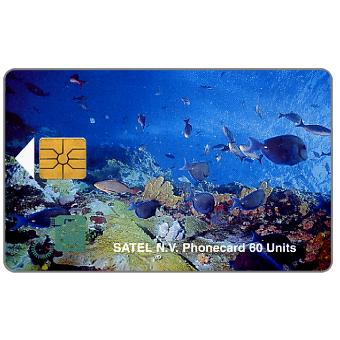 Phonecard for sale: First chip issue, underwater scene, 60 units
