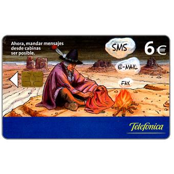 Phonecard for sale: Sms - E-mail - Fax, indian, 6€