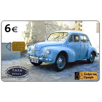 Phonecard for sale: Renault 4/4, 6€