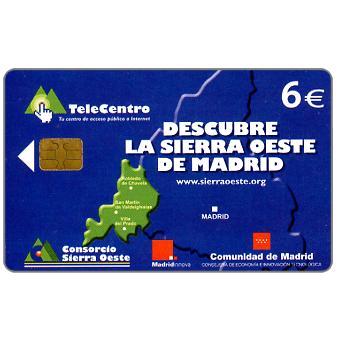 Phonecard for sale: Sierra Oeste de Madrid, 6€