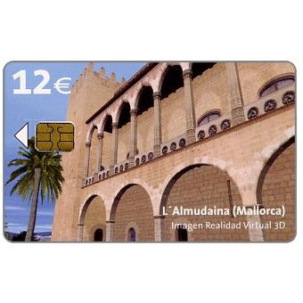 Phonecard for sale: L'Almudaina, Mallorca, 3-D image, 12€
