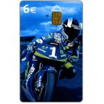 The Phonecard Shop: Motorcycle, front, 6€