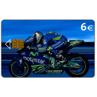 Phonecard for sale: Motorcycle, side, 6€