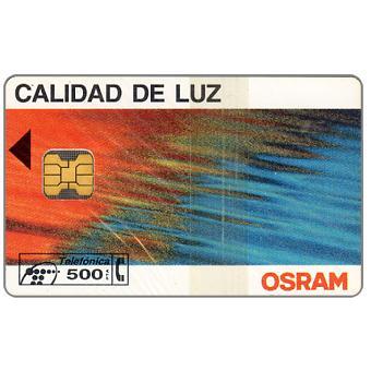 Phonecard for sale: Osram, 500 pta