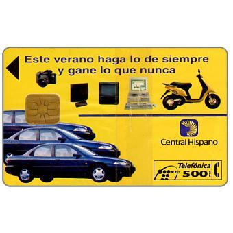Central Hispano, 500 pta