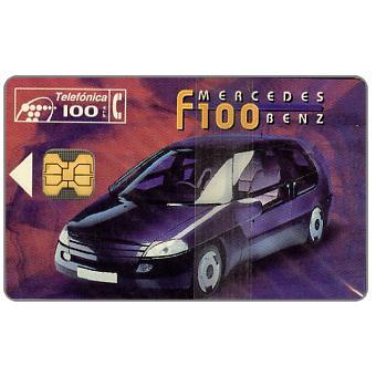 The Phonecard Shop: Mercedes F100, 100 pta