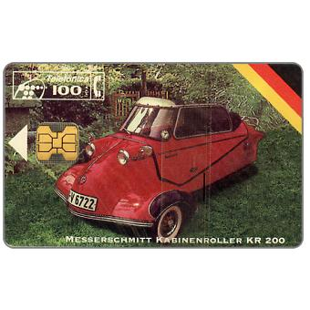 Phonecard for sale: Messerschmitt KR 200, 100 pta
