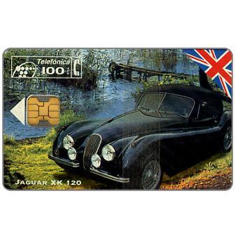 Phonecard for sale: Jaguar XK 120, 11/94, 100 pta