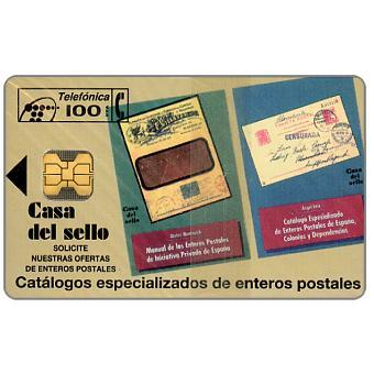 Phonecard for sale: Casa del sello, 100pta
