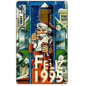 Phonecard for sale: Feliz 1995, 100 pta