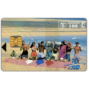 Phonecard for sale: Robinson's Club, 500 pta