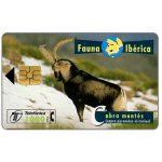 The Phonecard Shop: Fauna Iberica, Cabra montés (Capra pyrenaica victoriae), 1000 pta