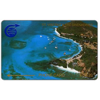 Phonecard for sale: Admirality Bay, 2CSVC, EC$20