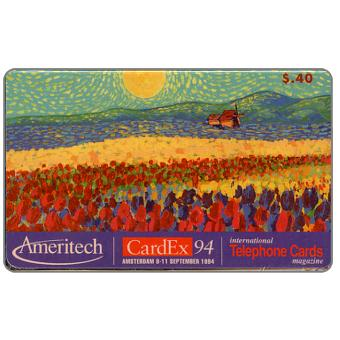 Phonecard for sale: Ameritech - Cardex 94, $.40