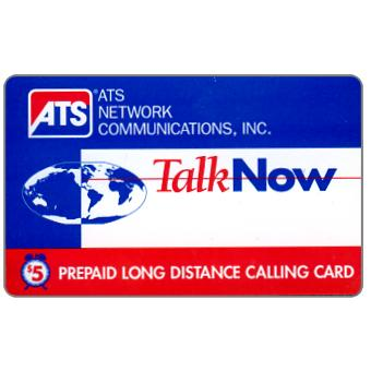 Phonecard for sale: ATS - TalkNow, $5