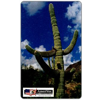 Phonecard for sale: Amerivox - Saguaro Cactus, $10/$100