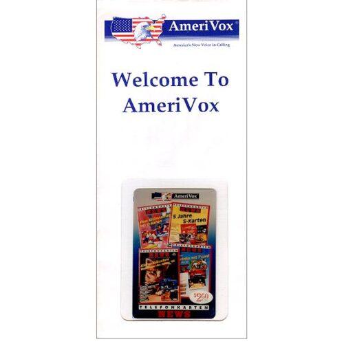 Amerivox - Telefonkarten News (in sealed envelope), $2.50