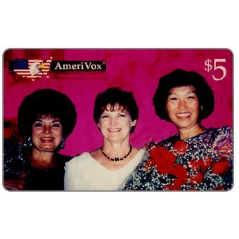 Amerivox - Tre Donne Belle, $5