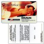 The Phonecard Shop: Amerivox - B.Braun Medical Inc., specimen