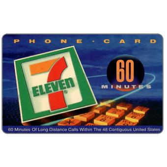Phonecard for sale: VarTec Telecom - 7 Eleven, 60 minutes