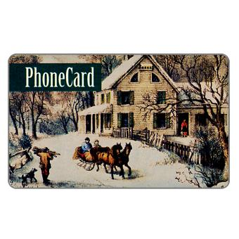 Phonecard for sale: Citybank - Winter, old print